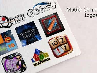 Mobile Game Logos