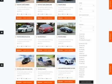 Auto-Vehicle Wordpress Site