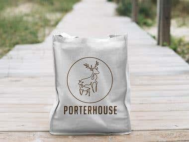 PorterHouse II Logo Design