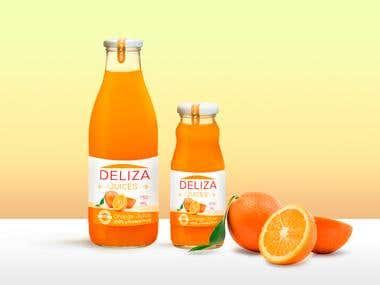 Etiquetas - Deliza Juices