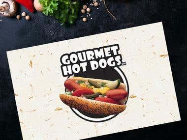 Logo Design II Gourmet Hot Dogs