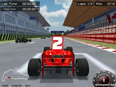 Unity 3D Car Race