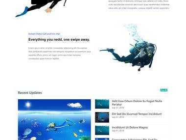 Diving website