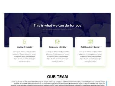 Personal portfolio website 1st