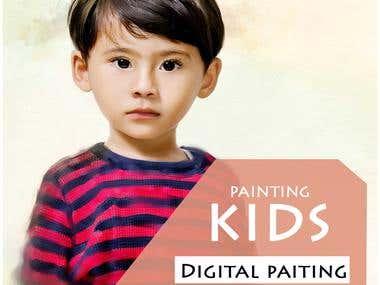 DIGITAL PAINTING KIDS