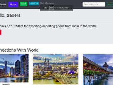 Imort-Export business