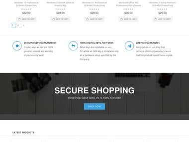 Magento 2 E-Commerce development
