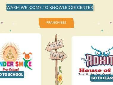 Kids School Website
