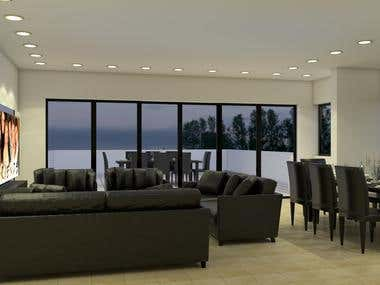 Living and Dinning (penthouse)
