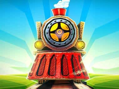 Train Runner iOS/Android Game