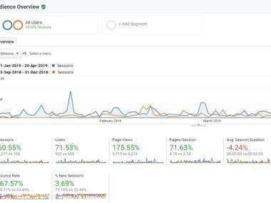 SEO audit and digital strategy reccomendations