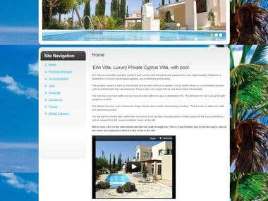 VIlla for rent in Holidays