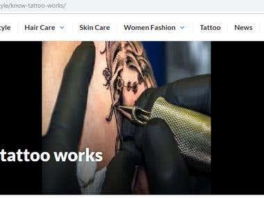 Know how tattoo works