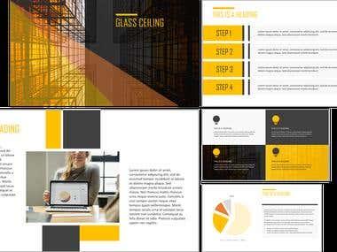Business Presentation Template #1