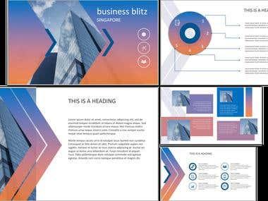 Business Presentation Template #2