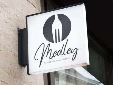 Restaurant Logo Mock
