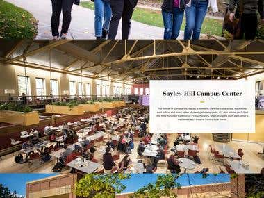 Carleton College - College Website
