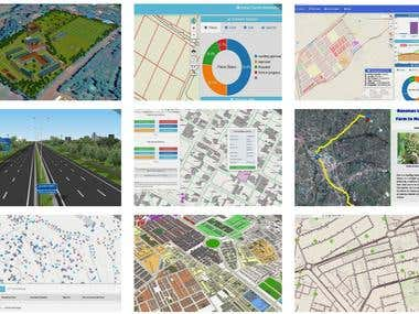 Portfolio for GIS and Data Analytics