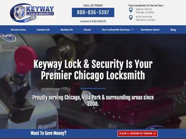 Locksmith Security Website