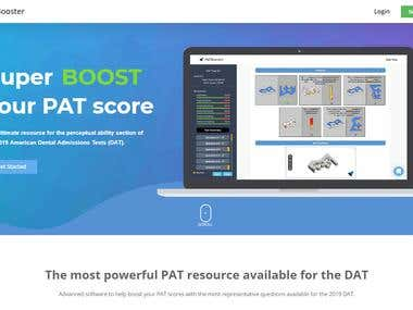 PATBooster Learning Application