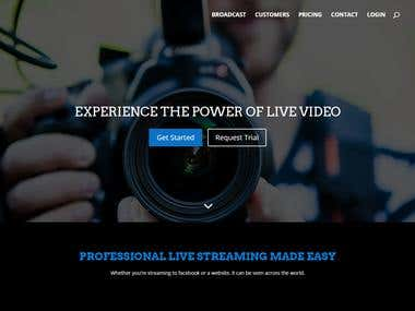 Live Stream Agency Website