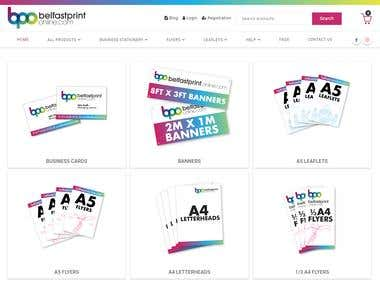 Online shop for Belfast Print Online
