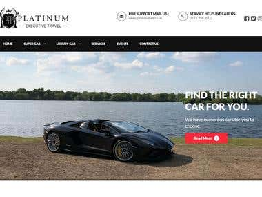 Platinum Travel Booking Website