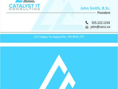 Company Logo Latter Head and Visiting card