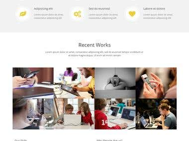 Responsive Web Design Official Theme