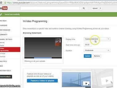 I am Provided YouTube Chanel Promoted With Real Subscribe
