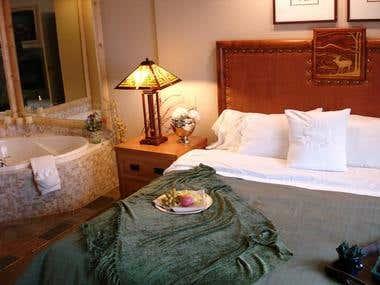 Bedroom at The Sheraton Mountain Vista