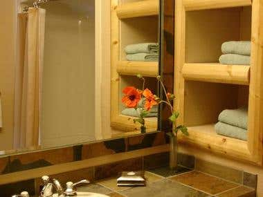 Bathroom at The Sheraton Mountain Vista