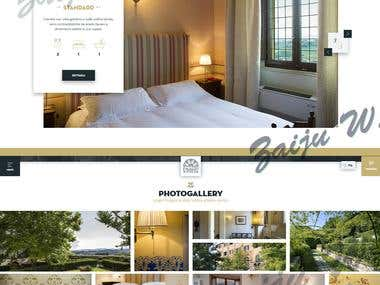one of the hotel websites. by simple & beautiful design