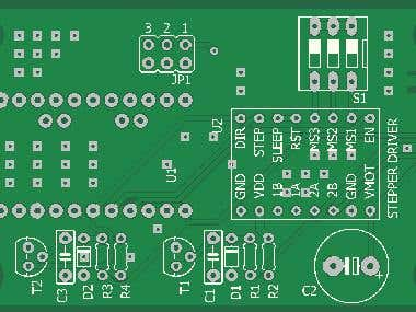 Stepper driver withy micro-stepping feature