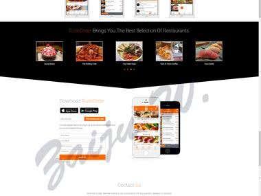 Web service & mobile app