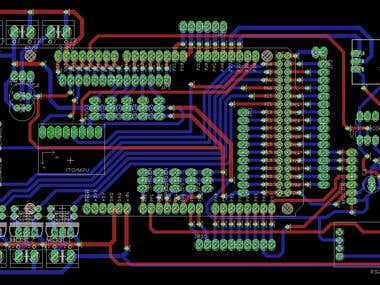 ROV (underwater submarine) PCB design (mother board)