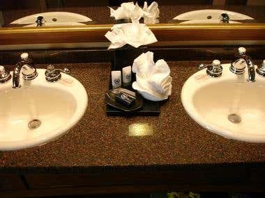 Jack and Jill Sinks at The Sheraton Mountain Vista