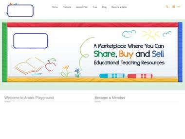 A marketplace for Arabic Language educators