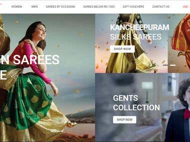 eCommerce Project on magento