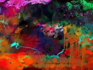 Digital Painting Abstract