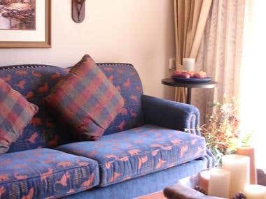 Living Room at The Sheraton Mountain Vista
