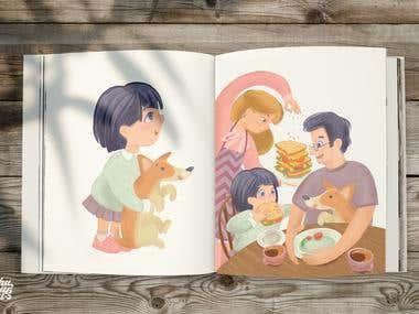 Childbook illustrations