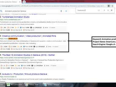 Top 3 Ranking in Google.ch