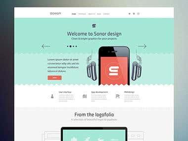 Developed, Designed blog tmplate with Jija2 for Django