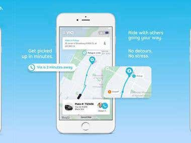 Via: Low-Cost Ride-Sharing