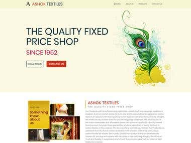 Traditional Textile Website