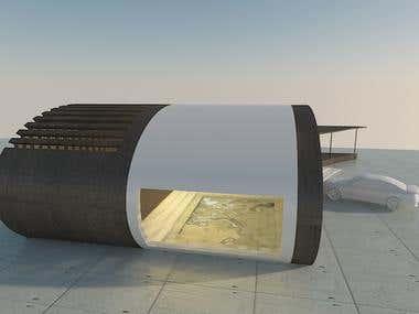 Arquitectural 3d Rendering modeling