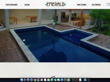 Website Emerald Eventos