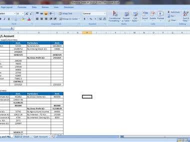 Computation of Financial Statement