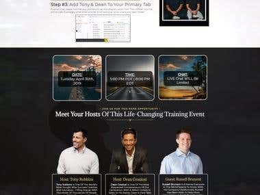 Clone Landing Page in ClickFunnels (Project for Maruf A.)
